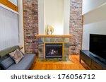 interior design of a luxury...   Shutterstock . vector #176056712