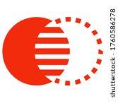 Combination and pictorial mark type logo. O and circle creative logo design