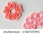 Finished Samples Using Tatting...