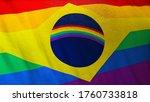 3d illustration of gay brazil...   Shutterstock . vector #1760733818