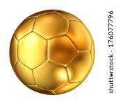 3d image of classic golden... | Shutterstock . vector #176077796