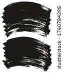 flat paint brush thin long... | Shutterstock .eps vector #1760784398