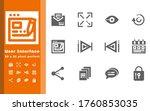 user interface 12 icon   set...