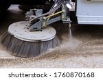 Street Sweeper Machine Cleaning ...
