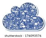 concept of cloud computing | Shutterstock . vector #176093576
