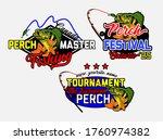 yellow perch logos. fishing...   Shutterstock .eps vector #1760974382