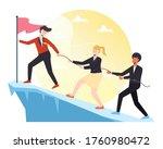 leadership illustration  a... | Shutterstock .eps vector #1760980472