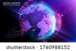 vector. map of the planet....   Shutterstock .eps vector #1760988152