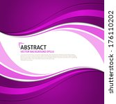 abstract pink background with... | Shutterstock .eps vector #176110202