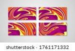 modern abstract liquid color... | Shutterstock .eps vector #1761171332