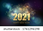 2021 new year abstract... | Shutterstock .eps vector #1761296198