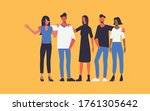 teamwork togetherness in...   Shutterstock .eps vector #1761305642