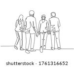 one single line drawing of... | Shutterstock .eps vector #1761316652