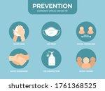 coronavirus 2019 ncov disease... | Shutterstock .eps vector #1761368525