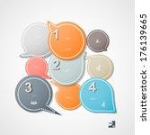 infographic  eps 10 | Shutterstock .eps vector #176139665