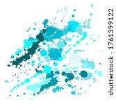 ink stains grunge background... | Shutterstock .eps vector #1761399122