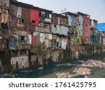 Poor And Impoverished Slums Of...