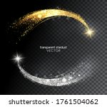 abstract shiny color gold and... | Shutterstock .eps vector #1761504062