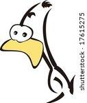 duck character | Shutterstock .eps vector #17615275