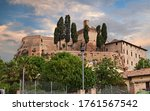 Meldola, Forli-Cesena, Emilia Romagna, Italy: the ancient fortress in the picturesque old town