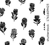 vector seamless pattern with... | Shutterstock .eps vector #1761609425