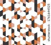geometry minimalistic artwork... | Shutterstock .eps vector #1761644525