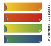 set colorful banners with place ...   Shutterstock .eps vector #176165858