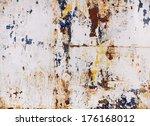 grunge wall | Shutterstock . vector #176168012