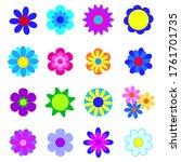 set of vector illustrations of...   Shutterstock .eps vector #1761701735