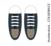 footwear flat design on white... | Shutterstock .eps vector #1761838415