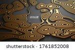 3d vector islamic pattern set... | Shutterstock .eps vector #1761852008