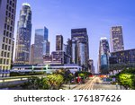 los angeles  california  usa... | Shutterstock . vector #176187626