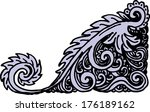 vintage decor | Shutterstock .eps vector #176189162