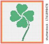 Clover Four Leaf Cross Stitch ...