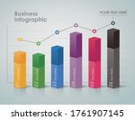 business infographic  process...   Shutterstock .eps vector #1761907145
