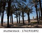 View Torremolinos Beach With...