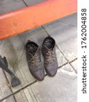 A Pair Of Old Women\'s Shoes...