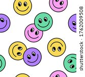 seamless pattern of colourful... | Shutterstock .eps vector #1762009508