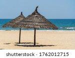 Tropical Sand Beach And Summer...