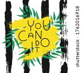 you can do it quote on paint...   Shutterstock .eps vector #1762016918