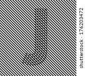 letter j   optical  illusion... | Shutterstock .eps vector #176203472
