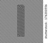 letter i   optical  illusion... | Shutterstock .eps vector #176203556