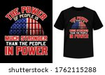 4th july t shirt with american... | Shutterstock .eps vector #1762115288