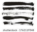 flat paint brush thin long...   Shutterstock .eps vector #1762119548