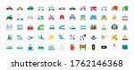 all transport vector icons  set.... | Shutterstock .eps vector #1762146368