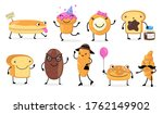 Various Funny Bread Characters...