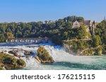 Rhine Falls And Castle Laufen ...