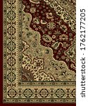 persian carpet and home...   Shutterstock .eps vector #1762177205