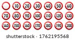 road signs collection. traffic... | Shutterstock .eps vector #1762195568