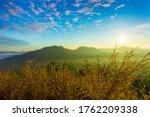 Fog Over Phu Thok Mountain At...